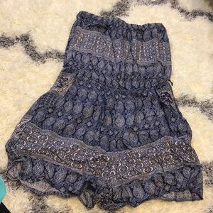 Pants - Dark blue romper